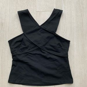 H&M cross top with back detail size M